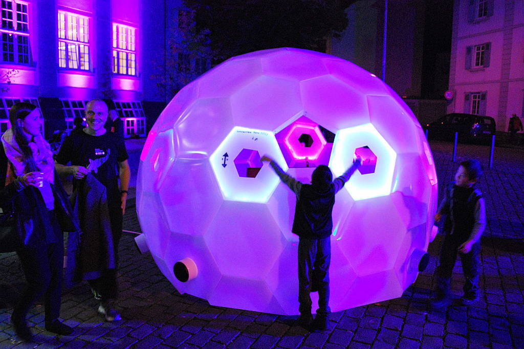 Geodesic Sound Hochschule Trier Naxoshalle : Photo courtesy of © Luminale 2016