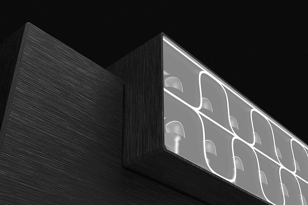 Nightsight Ligthing System Detail by Ben van Berkel / UNStudio : Photo © Zumtobel