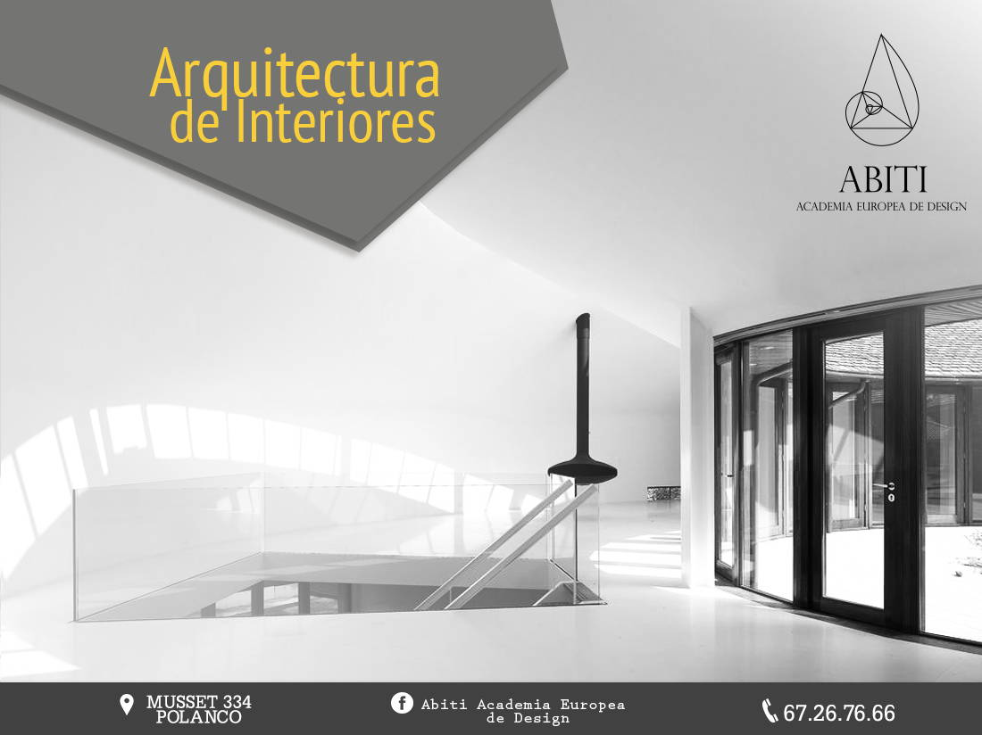 Carrera de Arquitectura de Interiores Abiti Academia Europea de Design : Fotografía © Abiti