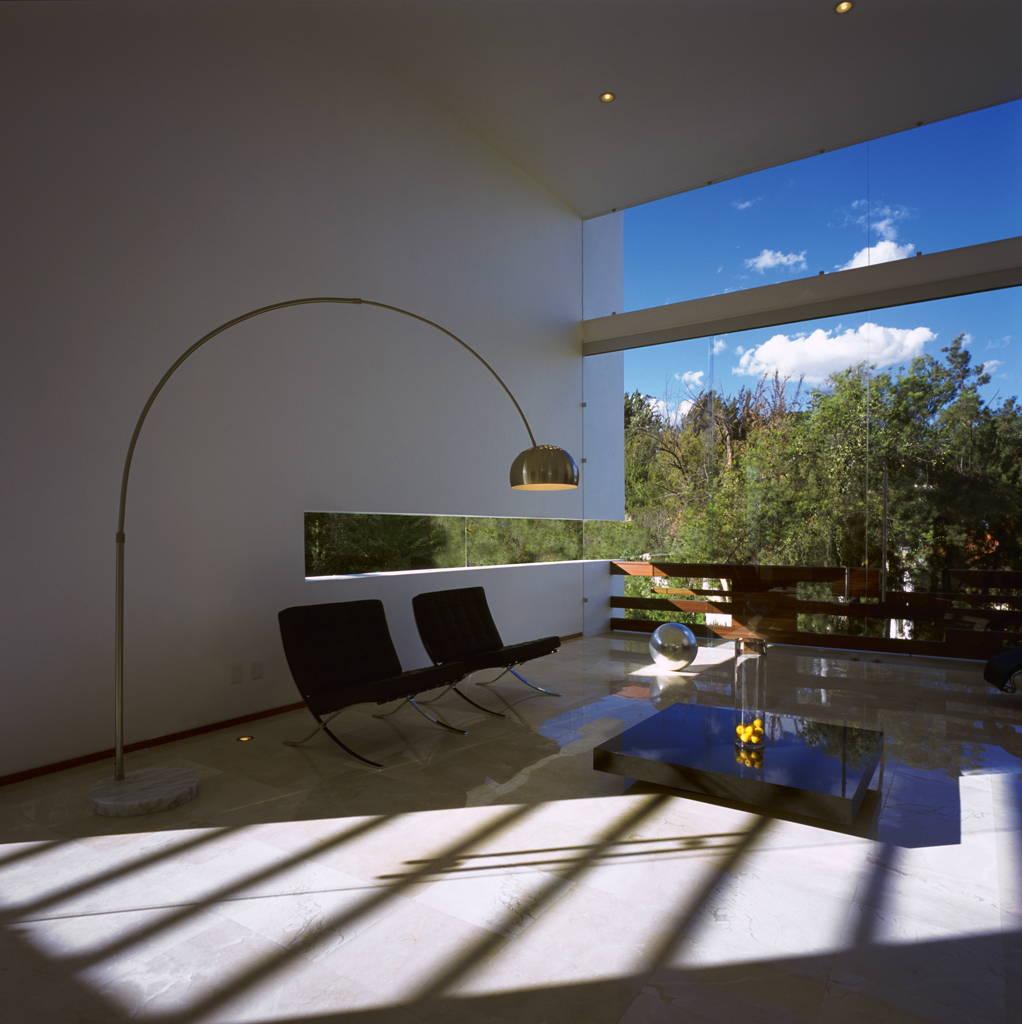 Casa Cubo Estancia diseñada por Agraz Arquitectos : Fotografía © Mito Covarrubias