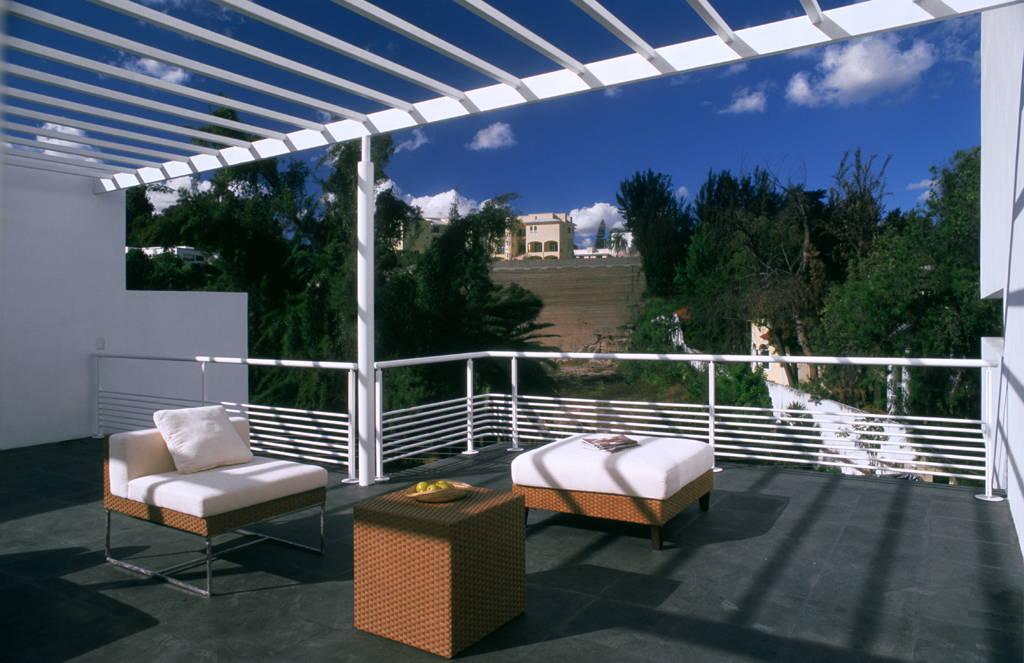 Casa Cubo Terraza diseñada por Agraz Arquitectos : Fotografía © Mito Covarrubias