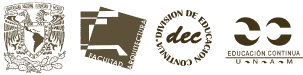Logo: © DECAD FA UNAM - © CEDyNM FA UNAM