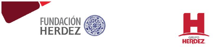 Logos © Grupo Herdez y © Fundación Herdez