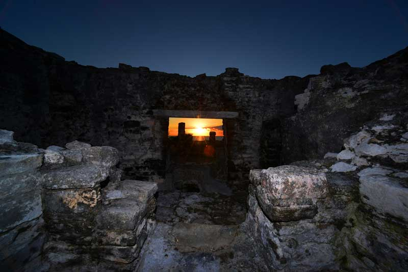 En Tulum, en Quintana Roo, el acceso será a partir de las 8:00 horas : Foto © Mauricio Marat, INAH