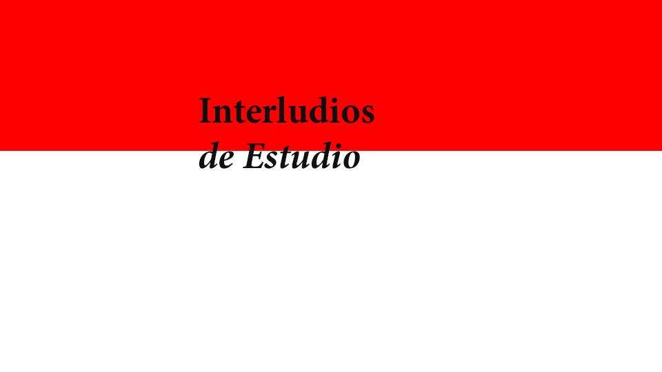 LIGA presenta el Ciclo de Interludios de Estudio : Cartel © LIGA