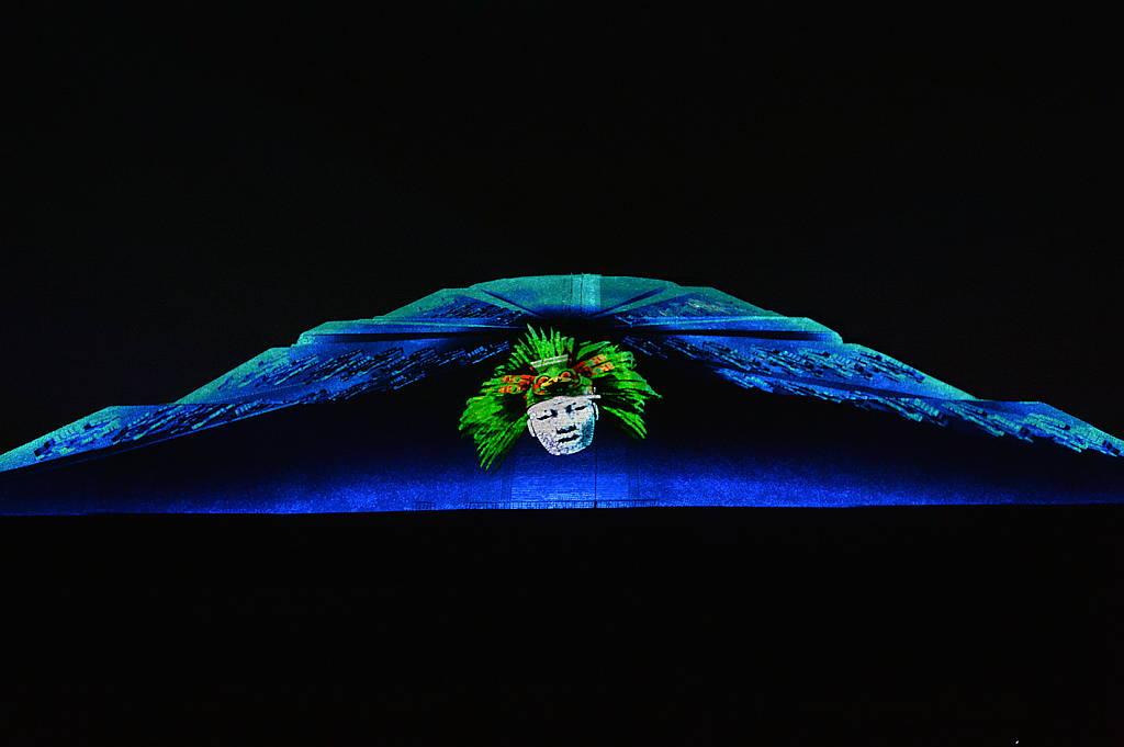 Experiencia Nocturna en Teotihuacán : Fotografía © FSM / Secretaría de Cultura de México