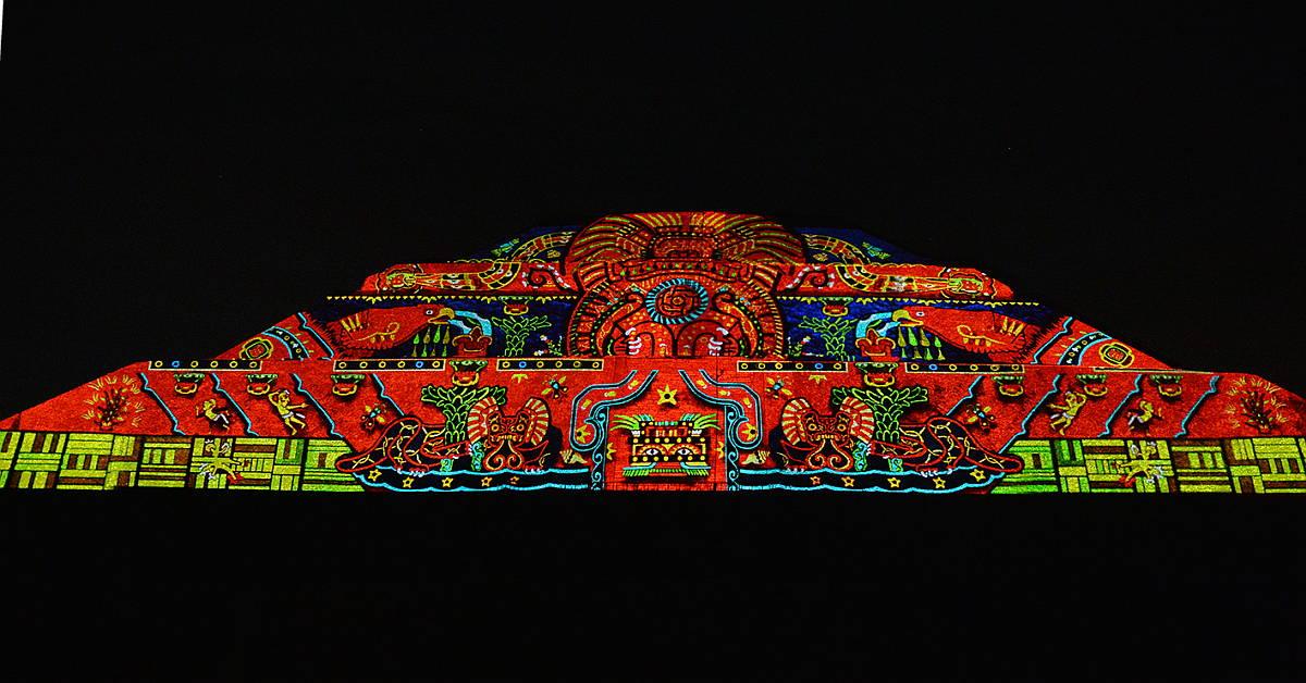 Inaugura El Presidente De La Rep Blica El Espect Culo: espectaculo de luces teotihuacan 2018