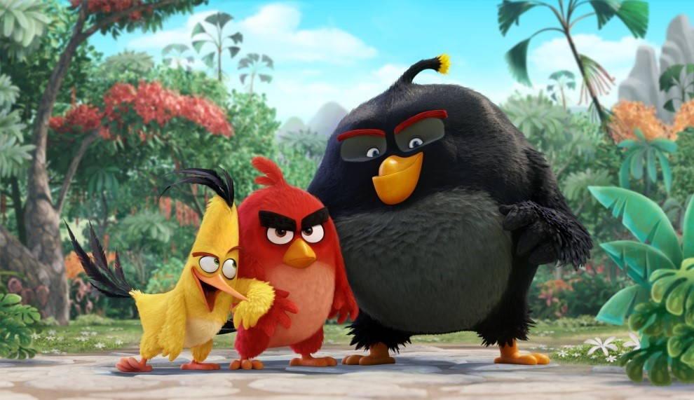 Imagen: La película Angry Birds. Imagen cortesía de © Sony Pictures Imageworks