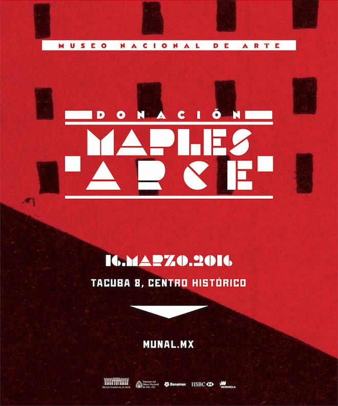 Exposición Donación Maples Arce : Cartel © Museo Nacional de Arte YouTube Channel