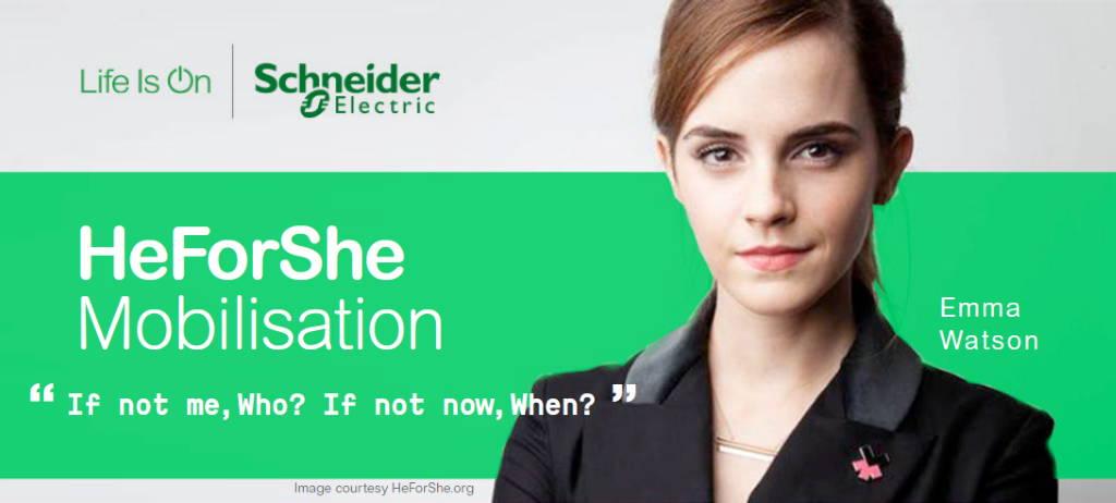 HeForShe Mobilization Emma Watson : Image courtesy of © HeForShe.org