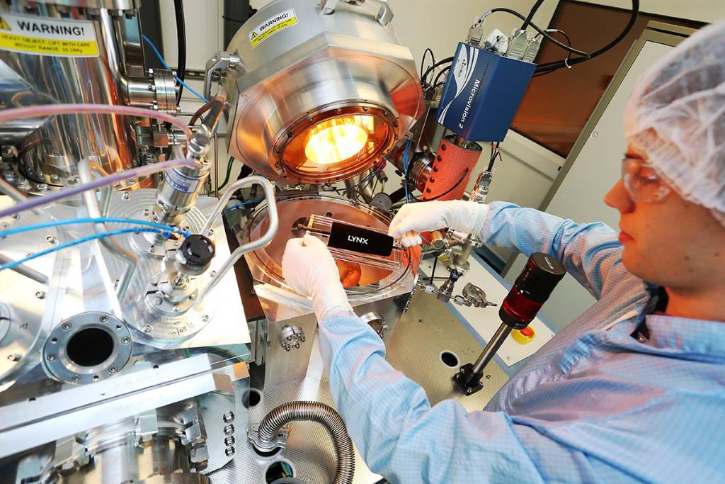 Vantablack el material mas oscuro creado por el hombre de Surrey NanoSystems : Photo © Surrey NanoSystems