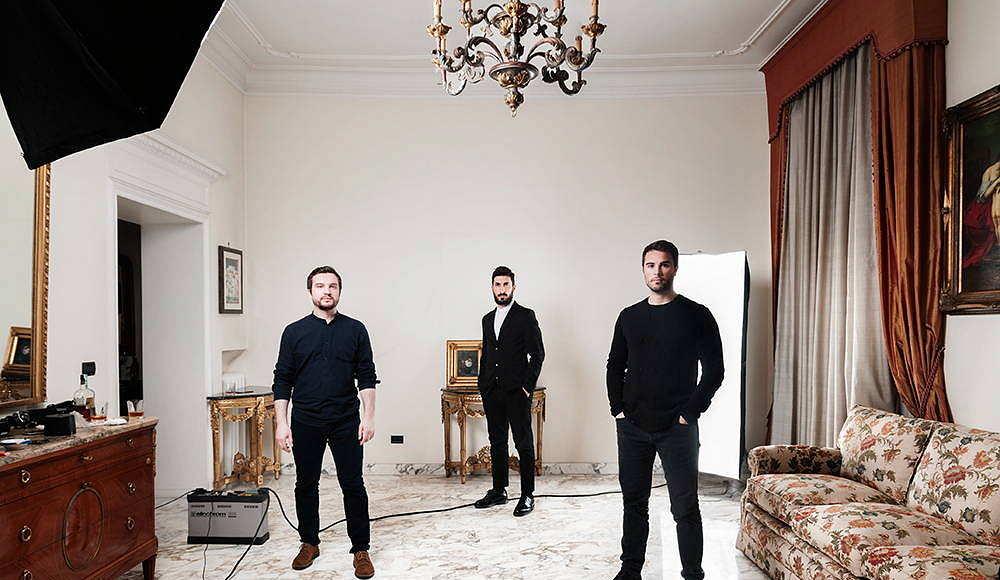 SET Architects partners Lorenzo Catena, Onorato di Manno, y Andrea Tanci : Photo © Ugo Salerno