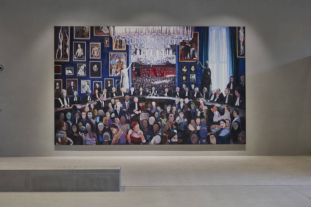Hoge Raad installed in the new building of the Supreme Court : Photography © Johannes Schwartz
