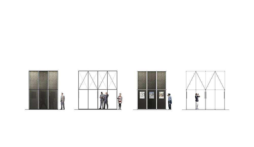 """ALBUM """"Bff016"""" Elevations Sections propuesta ganadora del concurso Florim4Architects diseñado por SET Architects para Florim : Drawing © SET Architects"""