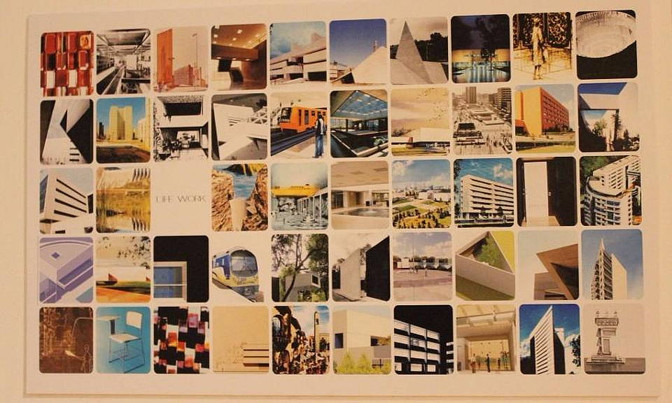 La exposición David Muñoz y su legado, está formada por planos, maquetas, fotografías y diversos objetos que refieren a su trayectoria, uno de los arquitectos representativos del siglo XX : Imágen cortesía del © INBA