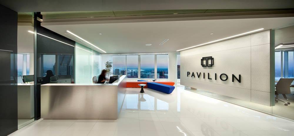 Pavilion Financial Corporation Reception area : Photo credit © Claude-Simon Langlois