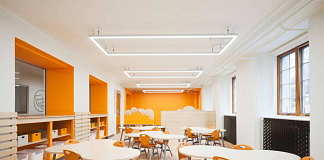 Sainte-Anne AcademyKindergarten classroom : Photo credit © Maxime Brouillet
