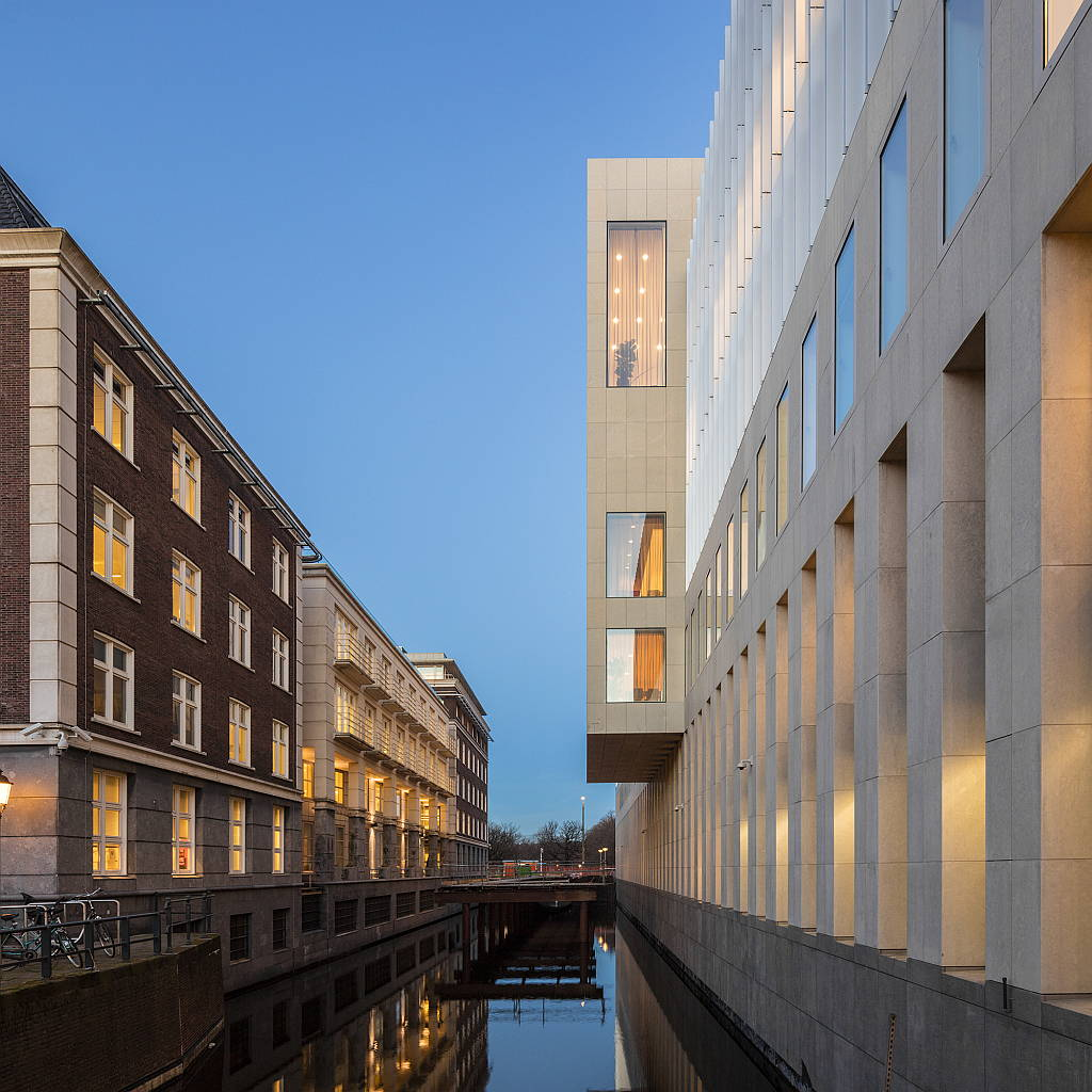 Suprema Corte de Holanda diseñada por KAAN Architecten : Photo © Fernando Guerra FG+SG