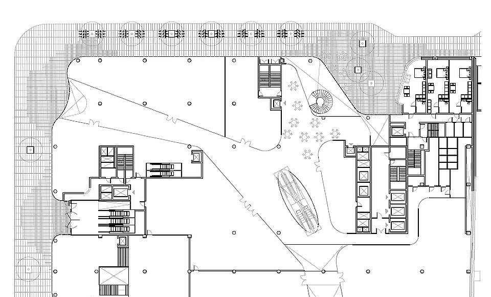 Hästen 21 Stockholm Ground Floor : Drawing © Schmidt Hammer Lassen Architects