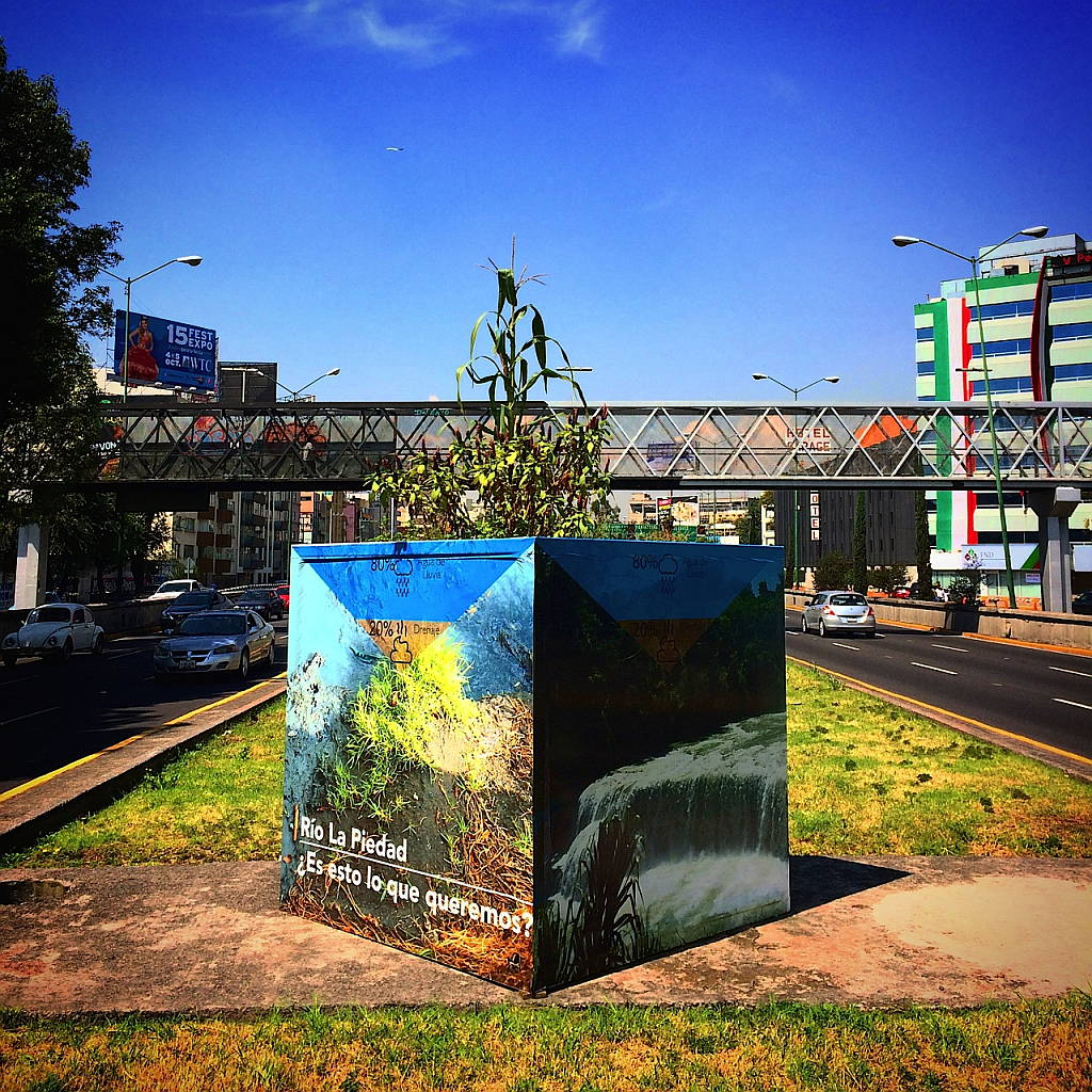 H2O3 obra del Proyecto Cuenca creado por Taller 13 : Fotografía © Taller 13