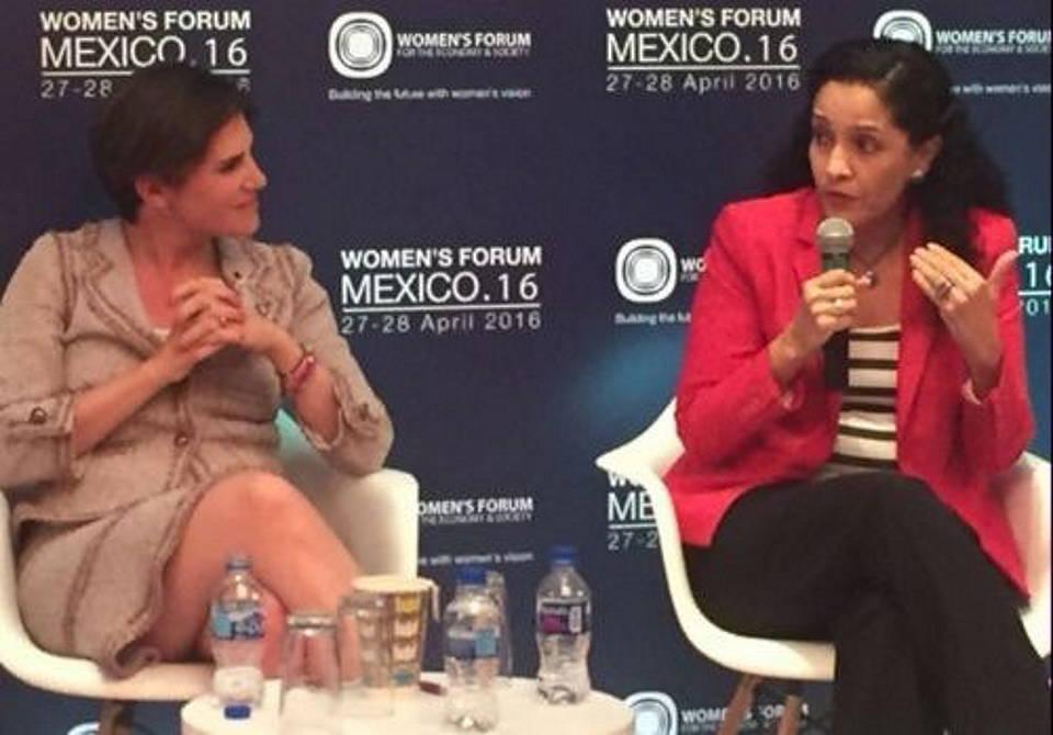 Dolores Prado, Directora General de Holcim El Salvador y Centro América habló sobre las acciones para impulsar la inclusión laboral : Fotografía © Holcim México