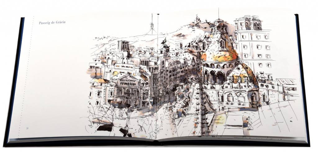 La Barcelona Dibujada. Tres libros, tres estilos : Portada © Barcelona Libres