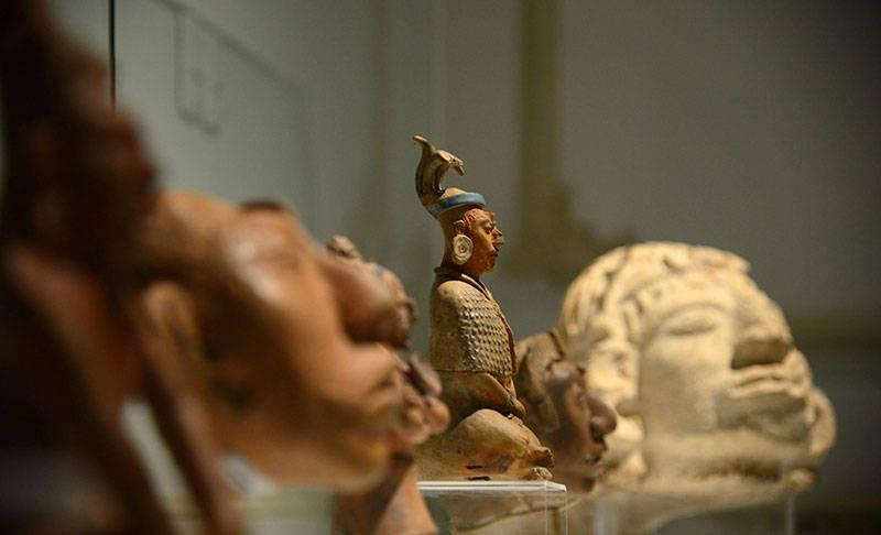 La muestra da cuenta de las representaciones del cuerpo en el arte de los antiguos mayas : Foto © Héctor Montaño INAH