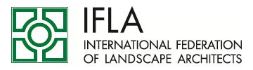 Logo © IFLA International Federation of Landscape Architects