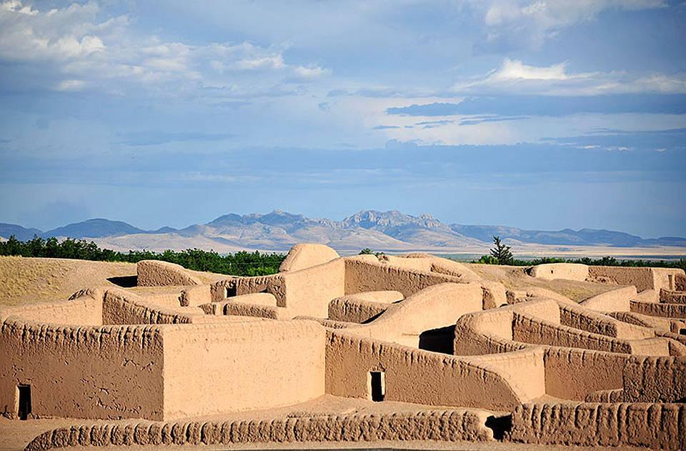 Zona Arqueológica de Paquimé, Chihuahua : Foto © Héctor Montaño INAH