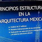 Principios Estructurales en la Arquitectura Mexicana : Portada cortesía del © Instituto Nacional de Bellas Artes