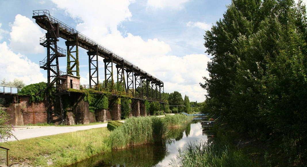 Landscape Park Duisburg Nord, Metamorphosis of the blast furnace plant Thyssen-Meiderich, 1990 - 2002 : Photo © Latz + Partner