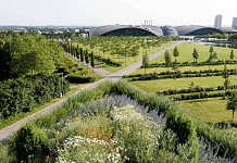 Plateau de Kirchberg, Luxembourg - Parc Central, Urban, landscape and artistic renewal of the European town, since 1991 : Photo © Michael Latz