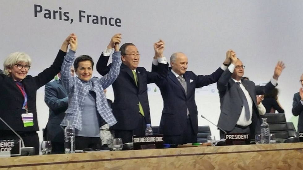 Momento Histórico : Photo © COP21