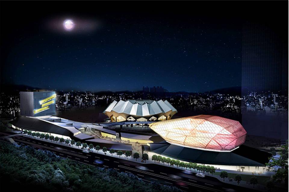 Taipei Pop Music Center : Render © RUR Architecture DPC