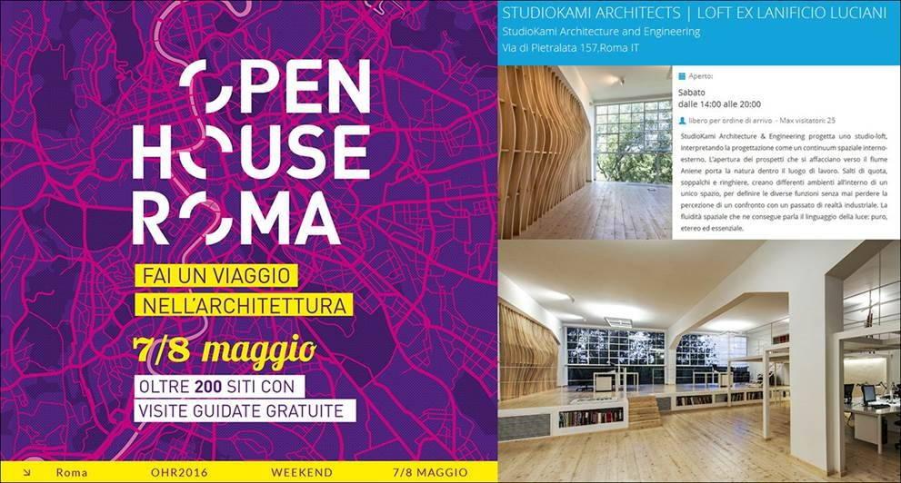 Studio Kami Architecture & Engineering presente en Open House Roma 2016 : Photo © Studio Kami Architecture & Engineering