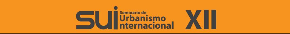 XII Seminario de Urbanismo Internacional : Cartel © CYAD UAM Azcapotzalco