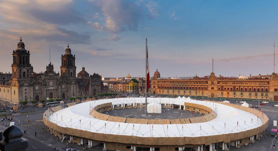 Pabellón para la Feria de las Culturas Amigas 2016 diseñado por Ambrosi | Etchegaray : Fotografía © Jaime Navarro