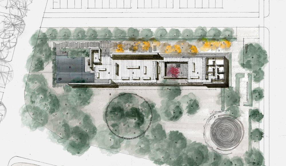 Floor Plan : Photo credit © Aidlin Darling Design