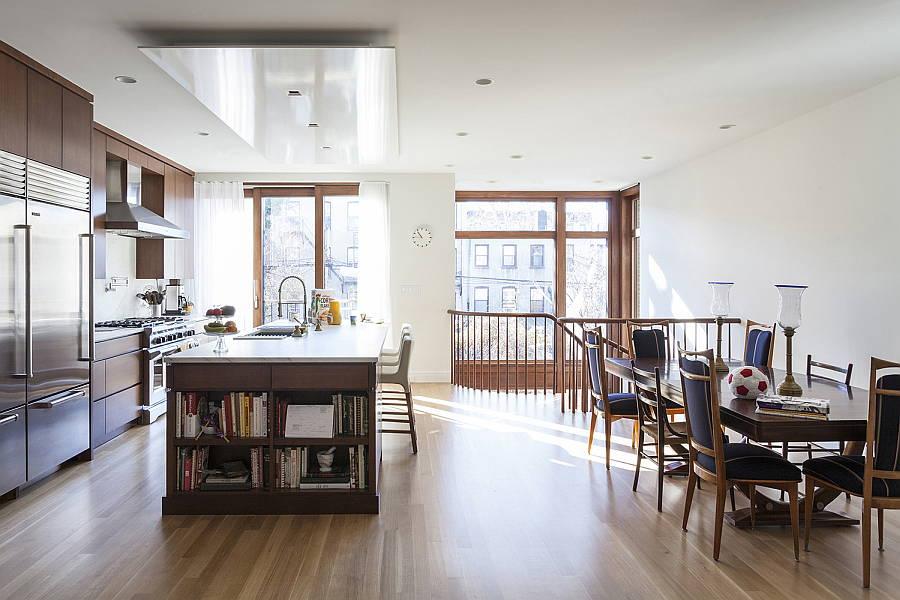 Knapp Residence, Carroll Gardens, Brooklyn, NY - Baxt Ingui Architects, P.C. New York, NY : Photo Credit © Baxt Ingui Architects, P.C.