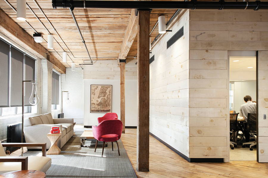 Cumberland Packing Offices Brooklyn, NY - CWB Architects Brooklyn, NY : Photo Credit © Rachael Stollar