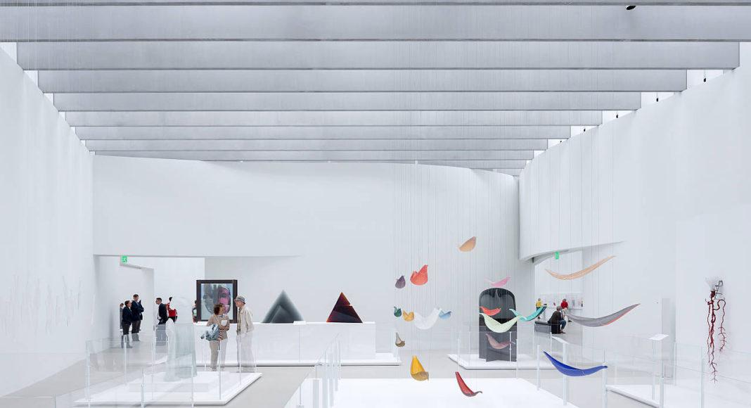 Vista del Espacio de la Galería en la Sala de Arte y Diseño Contemporáneo : Photo © Iwan Baan