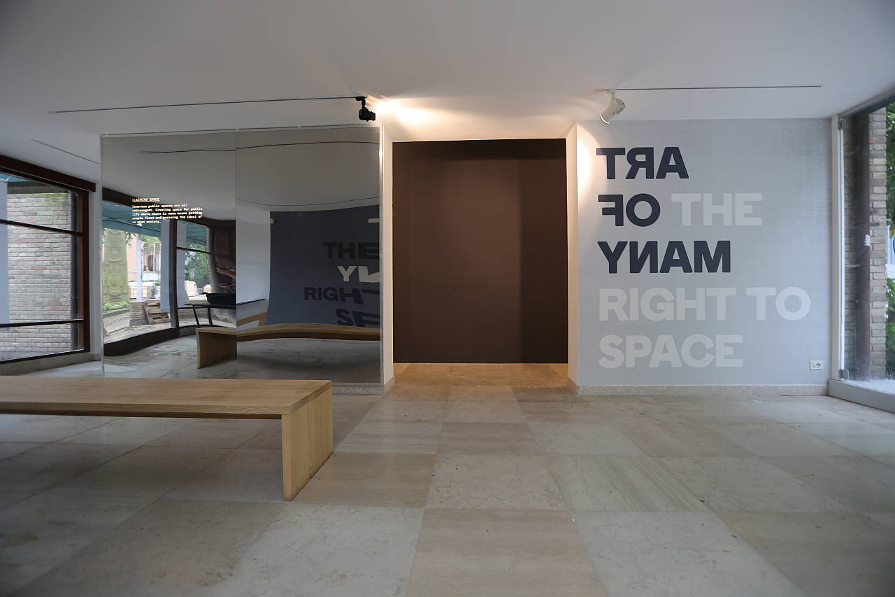 Art of Many and the Right to Space - Pavilion of Denmark at the 15th International Architecture Exhibition – La Biennale di Venezia : Photo credit © DAC
