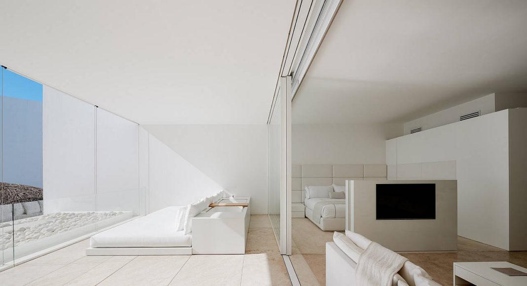 Master Suite Mar Adentro Hotel and Residences, diseñado por el arquitecto Mexicano Miguel Ángel Aragonés en Los Cabos, BCS: Fotografía © Mar Adentro Hotel and Residences
