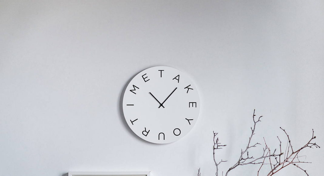 Mood Clocks Take your time by Paula Design Studio : Photo © Matteo Cavalieri