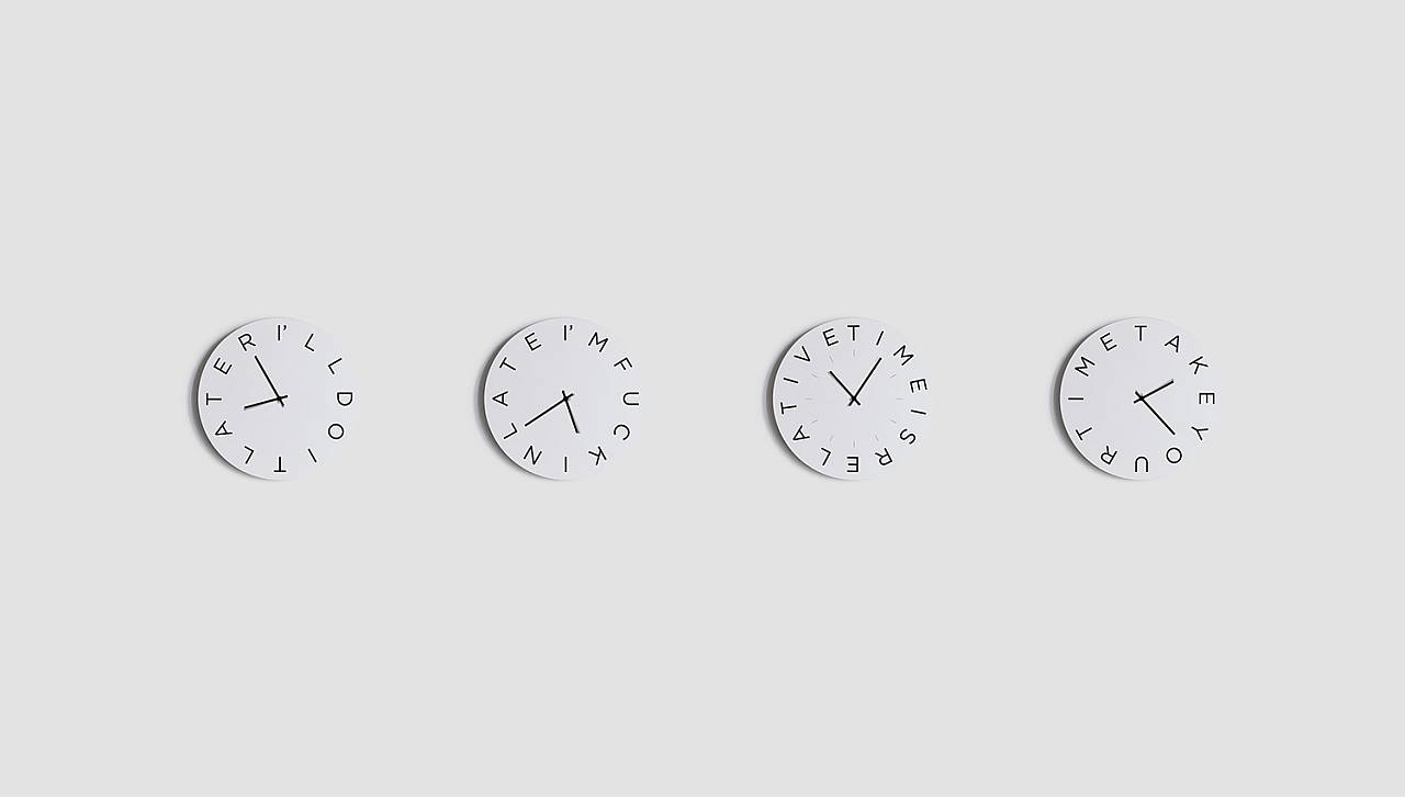 Mood Clocks Series by Paula Design Studio : Photo © Matteo Cavalieri