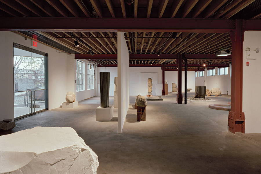 The Noguchi Garden Museum Long Island City, Queens, NY - Sage and Coombe Architects New York, NY : Photo Credit © Sage and Coombe Architects