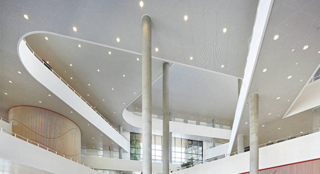 Syddansk Universitet Henning Larsen Architects : Photo credits © Hufton + Craft