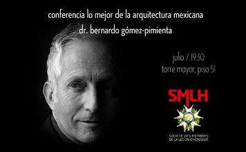 Conferencia Lo mejor de la arquitectura mexicana contemporánea del Dr. Bernardo Gómez-Pimienta : Photo © bgp arquitectura