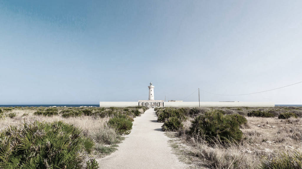 Mención de Honor Gold Concurso Lighthouse Sea Hotel A131 : Proposal © paillet laurie, taite jeremie, Jenna Moreau, Lucas Jollivet