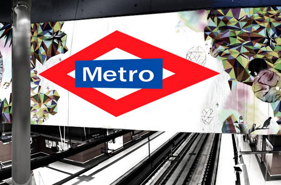 El COAM lanza el Concurso Metro de Madrid : Fotografía © Metro Madrid y © COAM